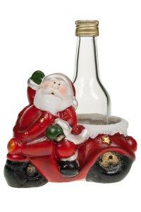 Mopedwagen Weihnachtsmann