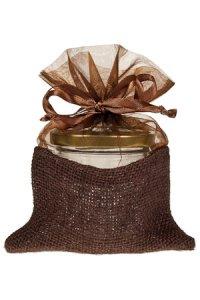 Geschenktasche braun, 12 x 18 cm