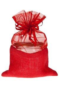 Geschenktasche rot, 16 x 24 cm