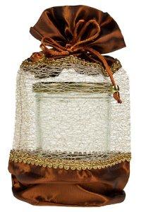 Geschenktasche braun, 15 x 24 cm