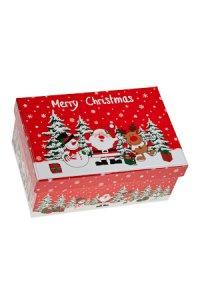 Geschenkbox Weihnachtsmotive klein