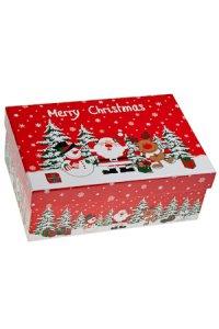 Geschenkbox Weihnachtsmotive  groß