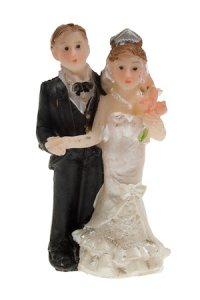 Miniatur zum Aufkleben Brautpaar