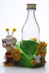 Bienchen mit Flasche