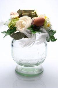 Blumenkranz mit Eiern