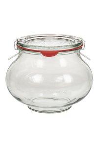 WECK-Schmuckglas  1/2 Liter - SECHSERPACK