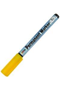 Permanent Marker fine gelb