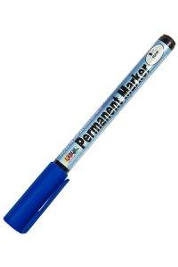 Permanent Marker fine blau