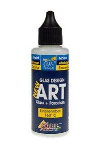 Glas Design New Art weiß, 55 ml