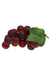 Weintraube rot zum Anhängen, 12 cm