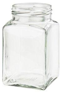 Quadratglas 260 ml