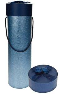 Flaschenbox Rose blau