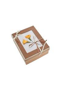 Geschenkbox Blume Größe B
