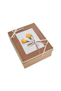 Geschenkbox Blume Größe C