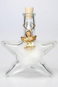 Weihnachtsanhänger Engel auf Wolke