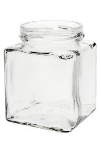 Quadratglas 212 ml