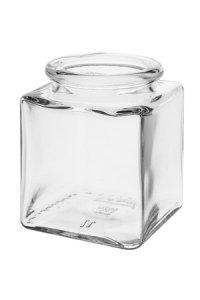 Korkenglas  100 ml quadratisch