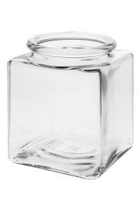 Korkenglas  200 ml quadratisch