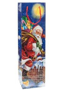 Flaschentasche Weihnachtsmann