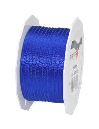 Stoffband Bremen 50 m, 3 mm royalblau