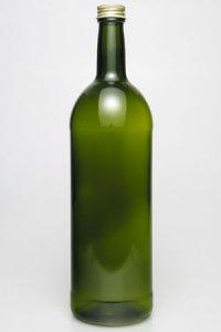 Geradhalsflasche 1000 ml antik
