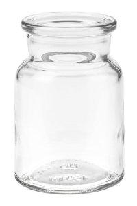 Korkenglas  150 ml rund
