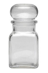 Stopfenglas 150 ml quadratisch