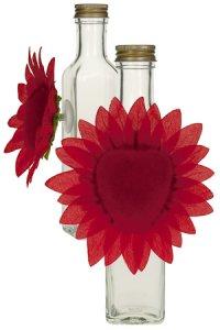 Herzblume mit Saugnapf