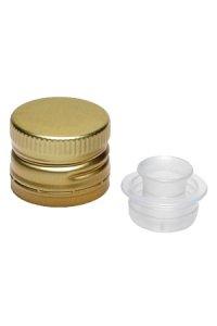PP 31,5 gold Aluminium mit Ausgießer und Originalitätsring