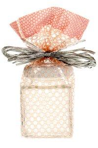 Schmuckbeutel Spitzenmuster rosa 9x14,5 cm - 10er Pack