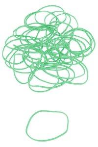 Gummibänder 30 mm grün (30 g)