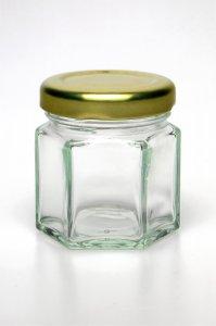 Sechskantglas 45 ml