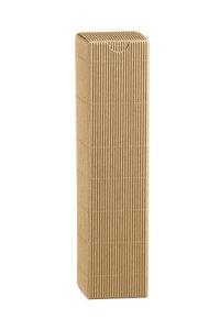 Flaschenkarton 1er 55 x 55 x 240 mm natur