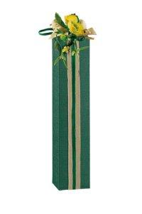 Flaschenkarton 1er  55 x 55 x 240 mm grün