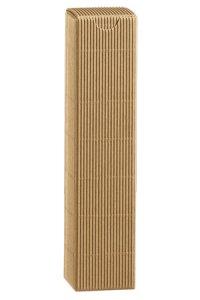 Flaschenkarton natur 1er 65 x 65 x 320 mm