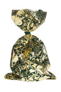 Schmuckbeutel Barock dunkelgrün 15 x 25 cm - 50er Pack