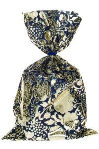 Schmuckbeutel Barock blau 20 x 35 cm - 50er Pack