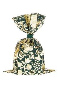 Schmuckbeutel Barock dunkelgrün 10 x 15 cm - 10er Pack