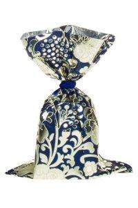 Schmuckbeutel Barock blau 10 x 15 cm - 10er Pack