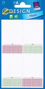 Etiketten Punkteband breit