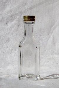 Portionsflasche eckig 20 ml