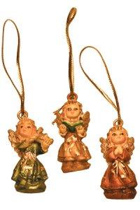 Weihnachtsanhänger - Engel (3 Stück)