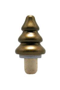 Tannenbaum-Korken 16 mm gold