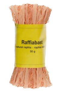 Raffia Bast 50 g terracotta