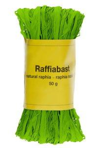 Raffia Bast 50 g apfelgrün