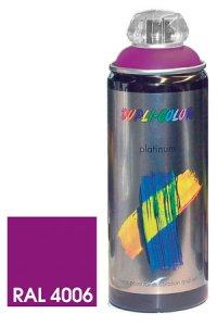 Platinum Spray seidenmatt verkehrspurpur, 150 ml