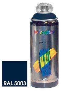 Platinum Spray seidenmatt saphirblau