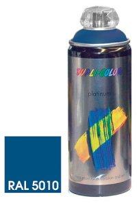 Platinum Spray seidenmatt enzianblau