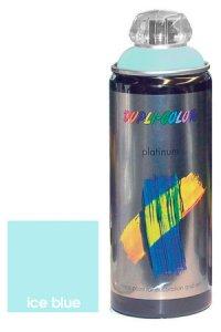 Platinum Spray seidenmatt eisblau
