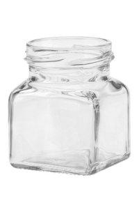 Quadratglas 120 ml